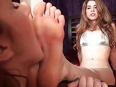 Fuß Fetisch, Lesbisch