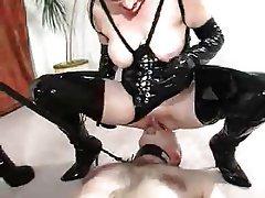 BDSM, Gesicht Sitzen, Femdom, Reifen