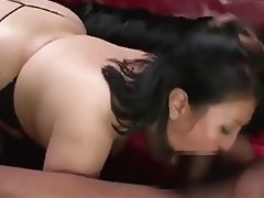 Asian, BBW, Hardcore, Threesome