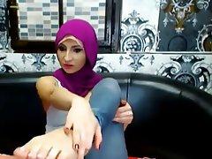 Amateur, Arabisch, Fuß Fetisch, Netznocken