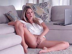 Babe, Blonde, Masturbation