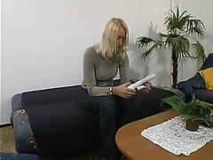 Blondine, Angespritzt, Hardcore